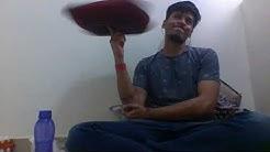 Guinness World record spinning pillow (cushion) on finger | Himanshu Gupta