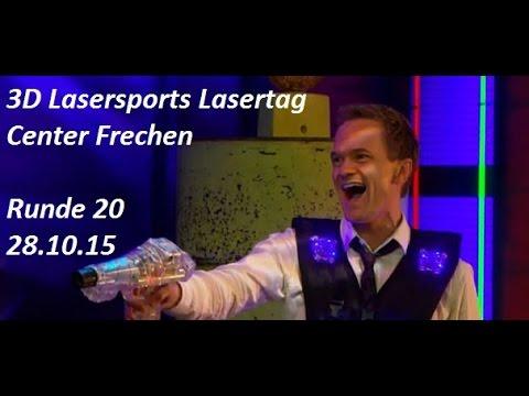 28.10.15 Runde 20 - 3D Lasersports Lasertag Center Frechen