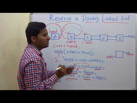 Reverse a Doubly Linked List in C