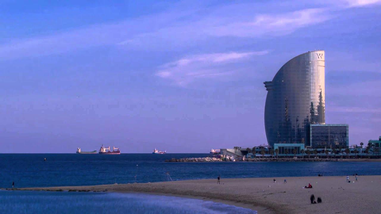Timelapse Hotel W Barcelona - Ricardo Bofill Taller de ...