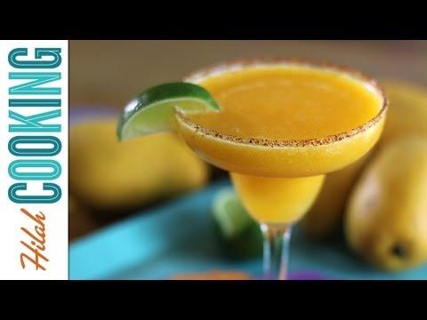 How To Make Mango Margarita Recipe | Hilah Cooking