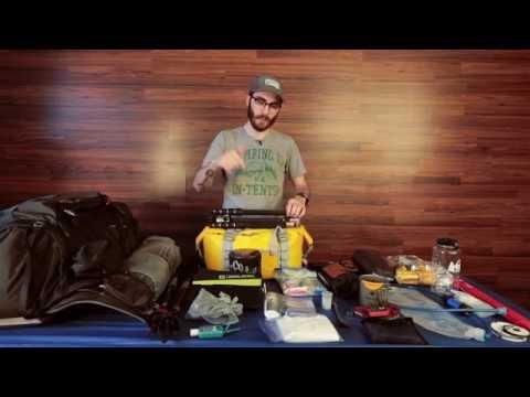 My 2016 John Muir Trail Gear + Food List - 20lbs *See description*