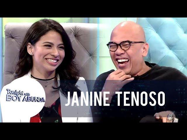 TWBA: Janine talks about Carlo Aquino