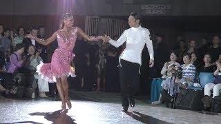 2017 JAPAN DANCE GRANDPRIX ラテンアメリカン決勝進出選手発表 4K
