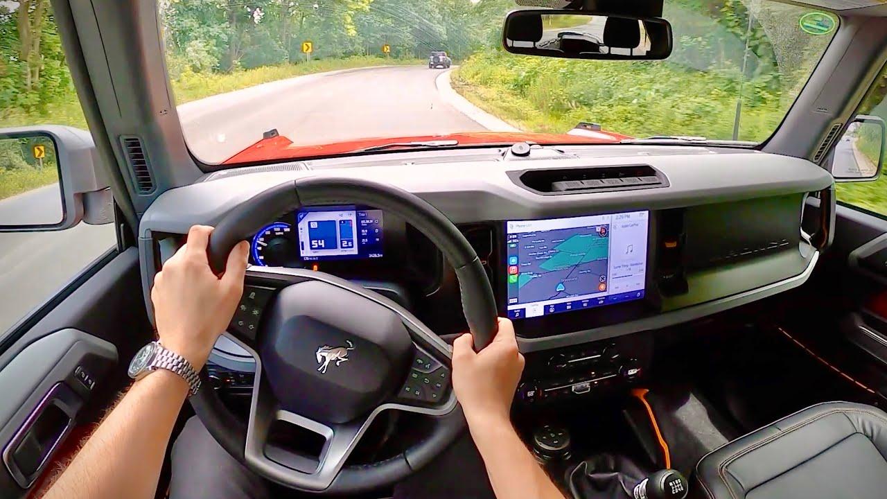 2021 Ford Bronco Badlands 2.3L Manual 2-Door - POV First Impressions