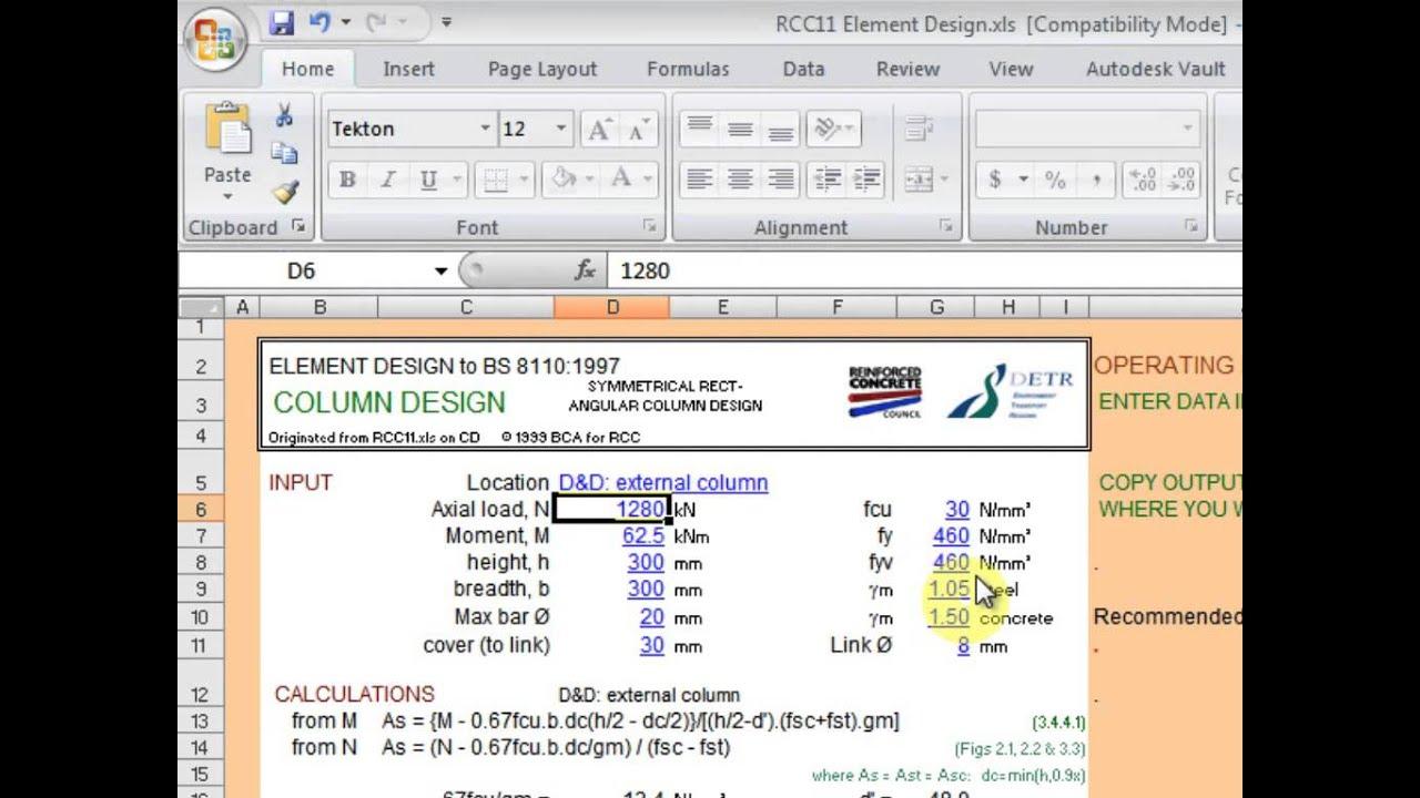 excel spreadsheet design