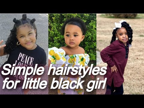 Simple ⭐ Hairstyles For Little Black Girl