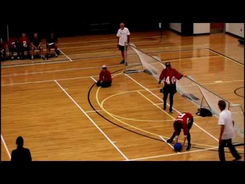 ISBA World Youth Goalball Championship 2015 - USA vs Canada  Women Gold Medal