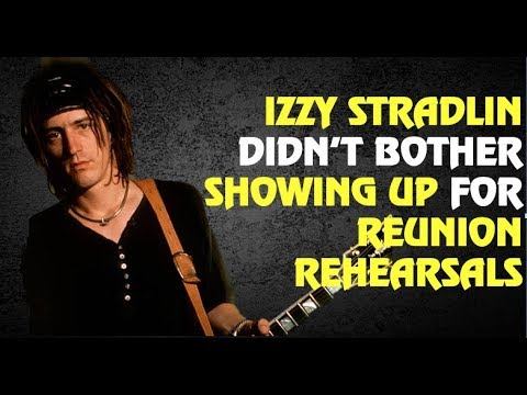 Guns N' Roses News  Izzy Stradlin Reunion Rehearsal Stories