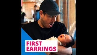 First earrings | KAMI |  Rochelle Pangilinan's daughter Shiloh Jayne