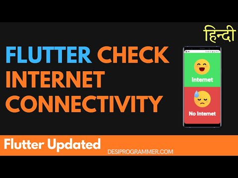 Checking Internet Connectivity Using Flutter and Connectivity Plus
