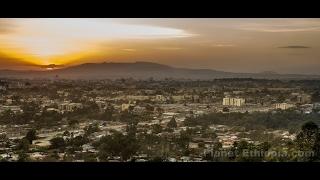 የንጋት ድባብ በአዲስ አበባ ዛሬ ሰንበት ጠዋት - Morning Impressions of Addis Abeba Today February 12.2017