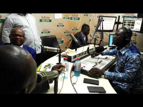Adom FM Captain Smart clashes with Afia Pokua on 'Dwaso Nsem'