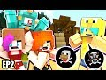 CHAD THE ANIMAL MURDERER! [Minecraft Summer Survival Adventure EP02] - Chad, MicroGuardian & Audrey