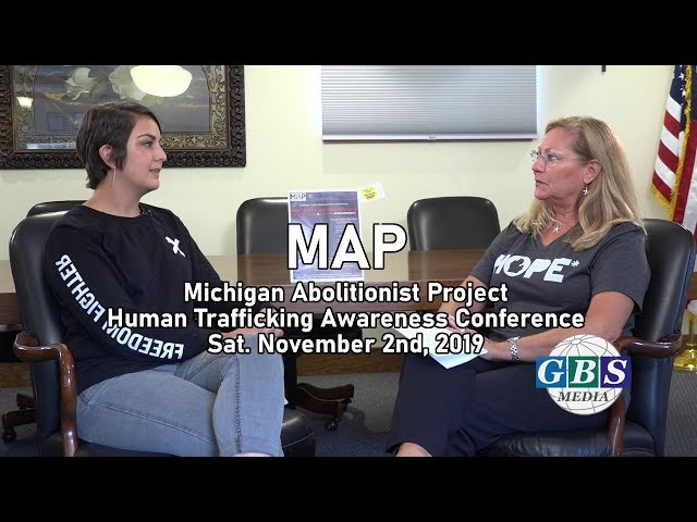 MAP discuss the fight against Human Trafficking & their upcoming Human Trafficking Conference