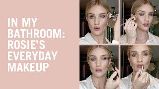 In My Bathroom: Rosie's Everyday Makeup Routine