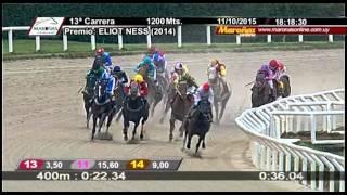 11/10/2015 – Hipodromo Maroñas – Carr 13 – ELIOT NESS (2014)
