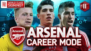 FIFA 16 Arsenal Career Mode - TIME FOR A WORLD CLASS STRIKER?! - Season 2 Episode 11