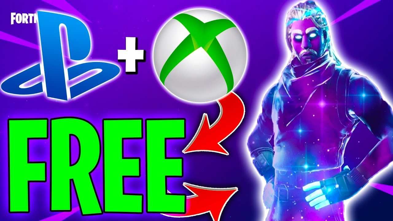 HOW TO GET THE GALAXY SKIN FREE ON CONSOLE WITHOUT BUYING ...