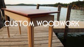 Custom Woodwork (by William A Poirier)
