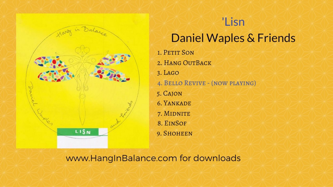 Lisn the remixes | daniel waples hang in balance.
