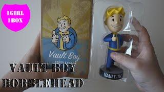 vault boy bobblehead fallout 4 unboxing