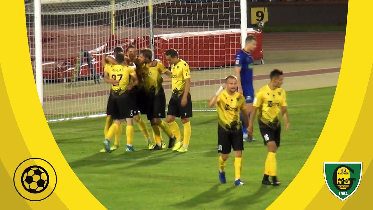 Skrót meczu Elana Toruń - GKS Katowice 1:2 (4 07 2020)