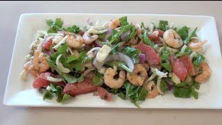 Buttermilk Prawn Salad - Video Recipe