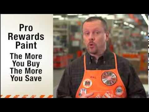 Pro Rewards Paint - The Home Depot