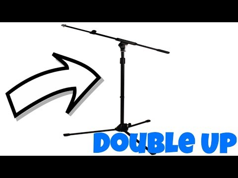 Amazon Basics Tripod Boom Mic Stand Unboxing - YouTube