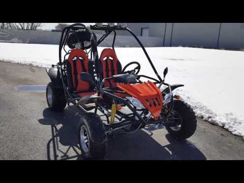 200cc Fully automatic go kart with reverse