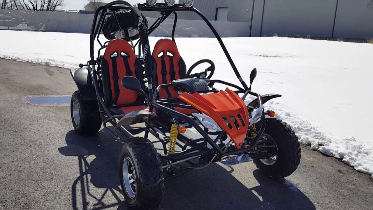 200cc Fully Automatic Go Kart With Reverse Youtube Gy6 Chinese Atv Wiring