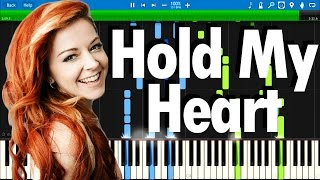 Lindsey Stirling ft. ZZ Ward - Hold My Heart | Synthesia piano tutorial