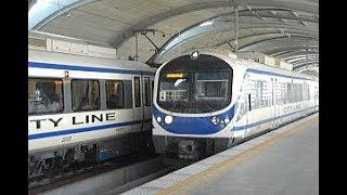 【エアポート・レイル・リンク車窓風景】(バーンタップチャーン駅~スワンナプーム駅)/Airport Rail Link