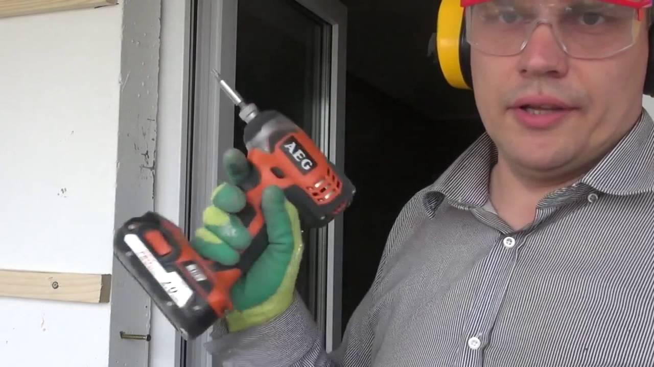 Как завернуть шуруп в бетон
