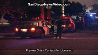 Bank Robber Claims To Have A Bomb, Imperial Beach(IMPERIAL BEACH - December 17, 2012 - INFORMATION FROM SDPD LT PAUL RORRISON & RADIO TRAFFIC: At about 4 PM officers responded to the 500 ..., 2012-12-18T04:48:59.000Z)