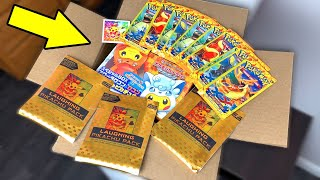 THE ONE AND ONLY LAUGHING PIKACHU SENT ME POKEMON CARDS FROM HER COLLECTION! Opening Custom Packs