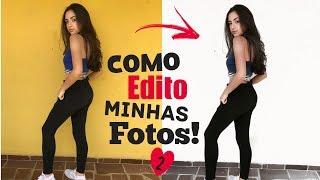 COMO EDITO MINHAS FOTOS 2 - FEED BRANCO!