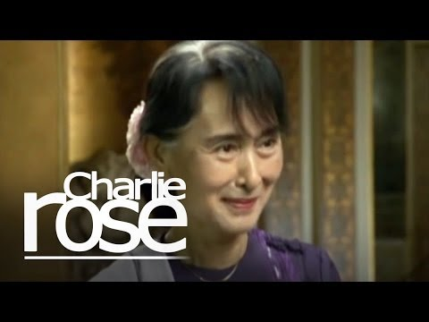 Aung San Suu Kyi (09/21/12) | Charlie Rose