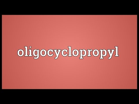 Oligocyclopropyl Meaning