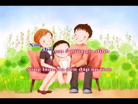 cầu cho cha mẹ 7 karaoke