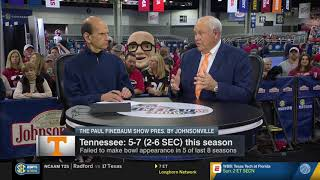 Phillip Fulmer on The Paul Finebaum Show 11.30.18