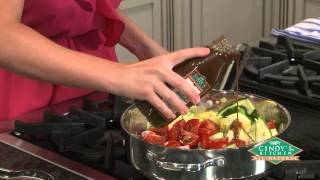 Fresh Tomato And Zucchini Salad With Balsamic Vinaigrette From Shaw's®