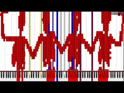 [Black MIDI] Spooky Scary Skeletons 7.58 Million | WIP 35