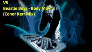 Bonobo - Flutter VS Beastie Boys - Body Movin (Conor Kerr Mix)