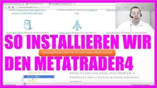 Automatisch Traden Bootcamp - 3 So installieren wir den Metatrader4