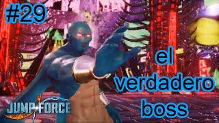 La Pelea contra el Verdadero Boss | Jump Force #29