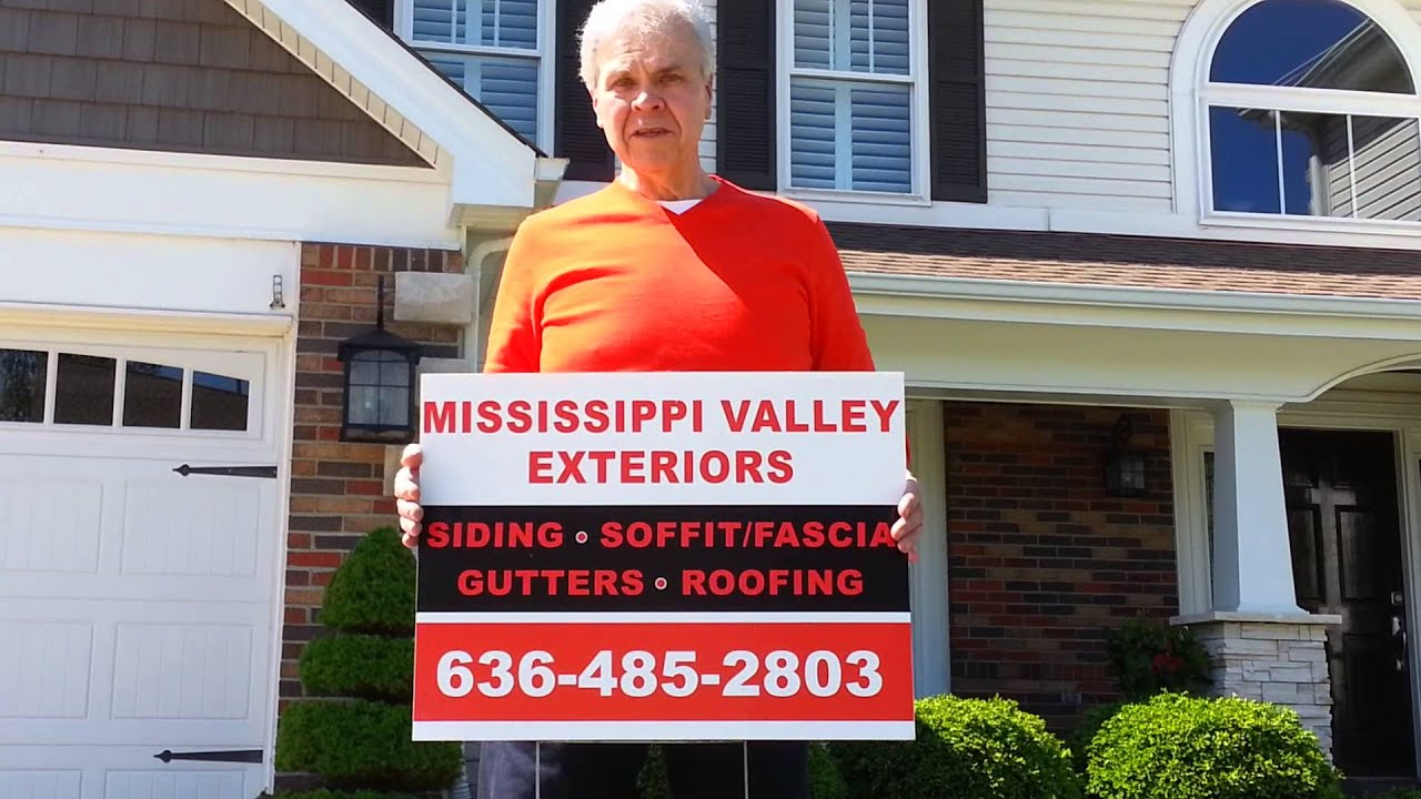 Happy Customer Of Mississippi Valley Exteriors