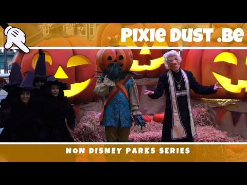 A day in Plopsaland, De Panne Belgium Halloween 2016   attractions, entertainment, shops !