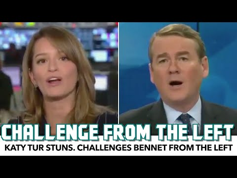 Katy Tur Stuns. Challenges Candidate From The Left